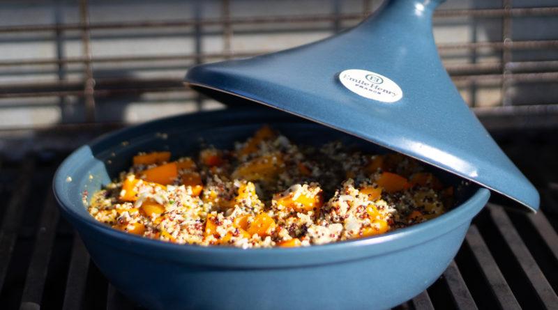 Tajine de quinoa au potimarron