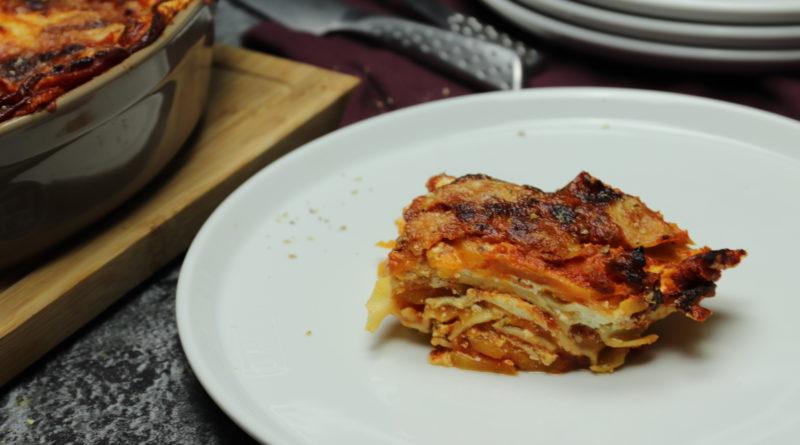 Lasagnes de butternut